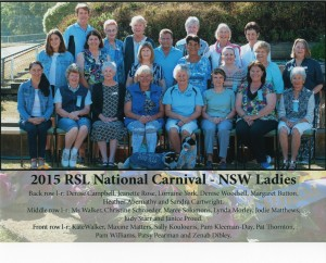 LADIES BLUE HEELERS SUPPORTERS 2015