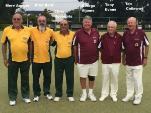 WINNERS & RUNNERS UP 2016 TRIPLES
